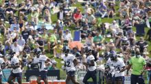 LOOK: Best photos from opening day of Seahawks training camp