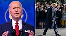 Why Biden's presidency faces an unprecedented day one challenge