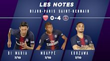 Dijon-PSG (0-4) : les notes des Parisiens