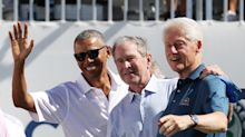 Obama, Bush And Clinton Help Make The Presidents Cup Something Special