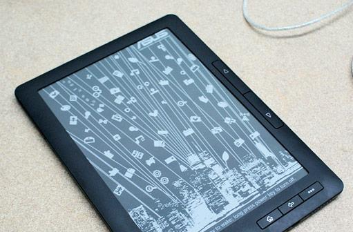 ASUS DR-900 e-reader escapes into the wild, gets a video overview