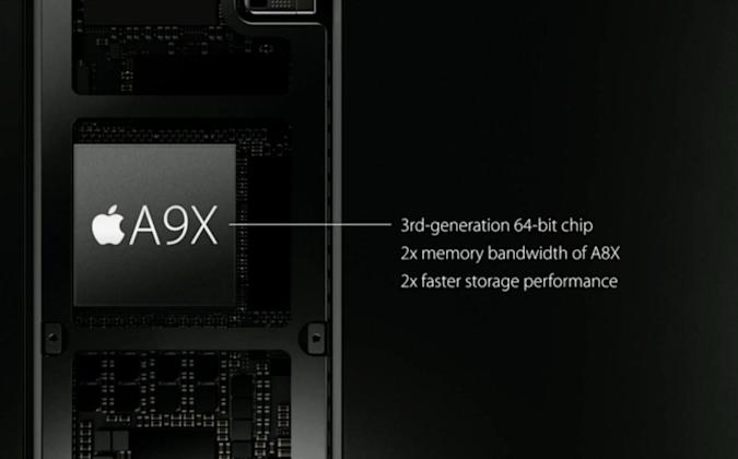 Apple unveils speedy A9 and A9X processors