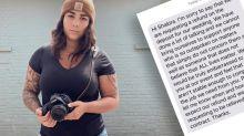 Wedding photographer's bold revenge on bride demanding refund