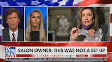 Salon owner accused of setting up Nancy Pelosi says accusation is 'hurtful'