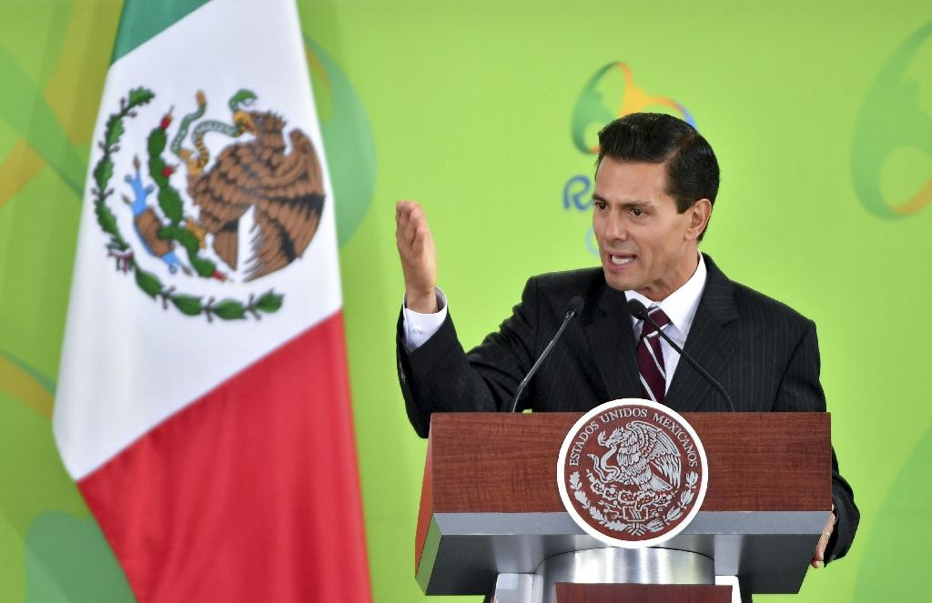 The controversy arises as Pena Nieto's popularity is at an all-time low, with only 23 percent of Mexicans holding a positive opinion of the leader