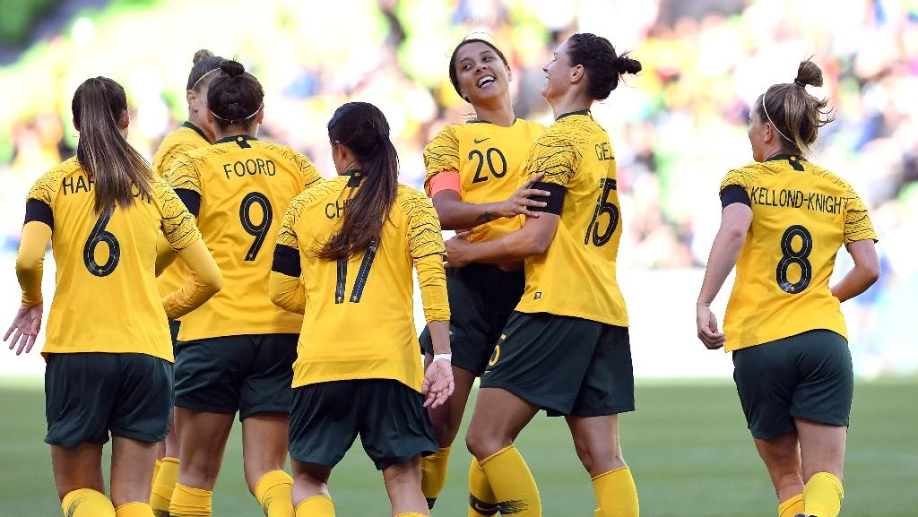 f12075cfb Matildas waltzing to World Cup with 'golden generation'