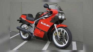 極稀有的道路賽車─1986 Suzuki GSXR750 Limited Edition 拍賣!