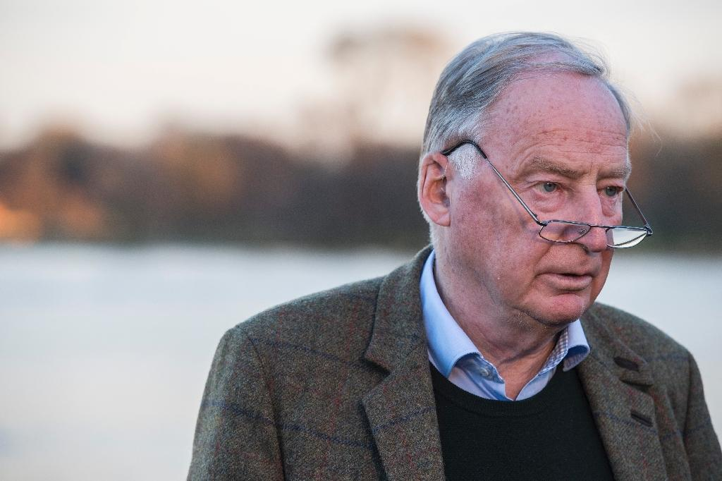Alexander Gauland said the AfD would focus on its platform at the party congress this week in Hanover. (AFP Photo/John MACDOUGALL)