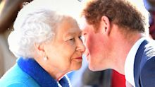 Prince Harry 'panics' when he bumps into the Queen at Buckingham Palace
