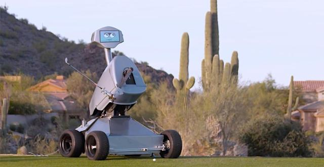 Golf-bot sinks hole-in-one at PGA event