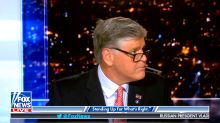 Sean Hannity unaware commercial break is over, gets caught vaping