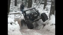 Off-Roader Hits the Slopes for His Birthday