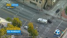 RV suspect in custody after leading police on wild chase through California