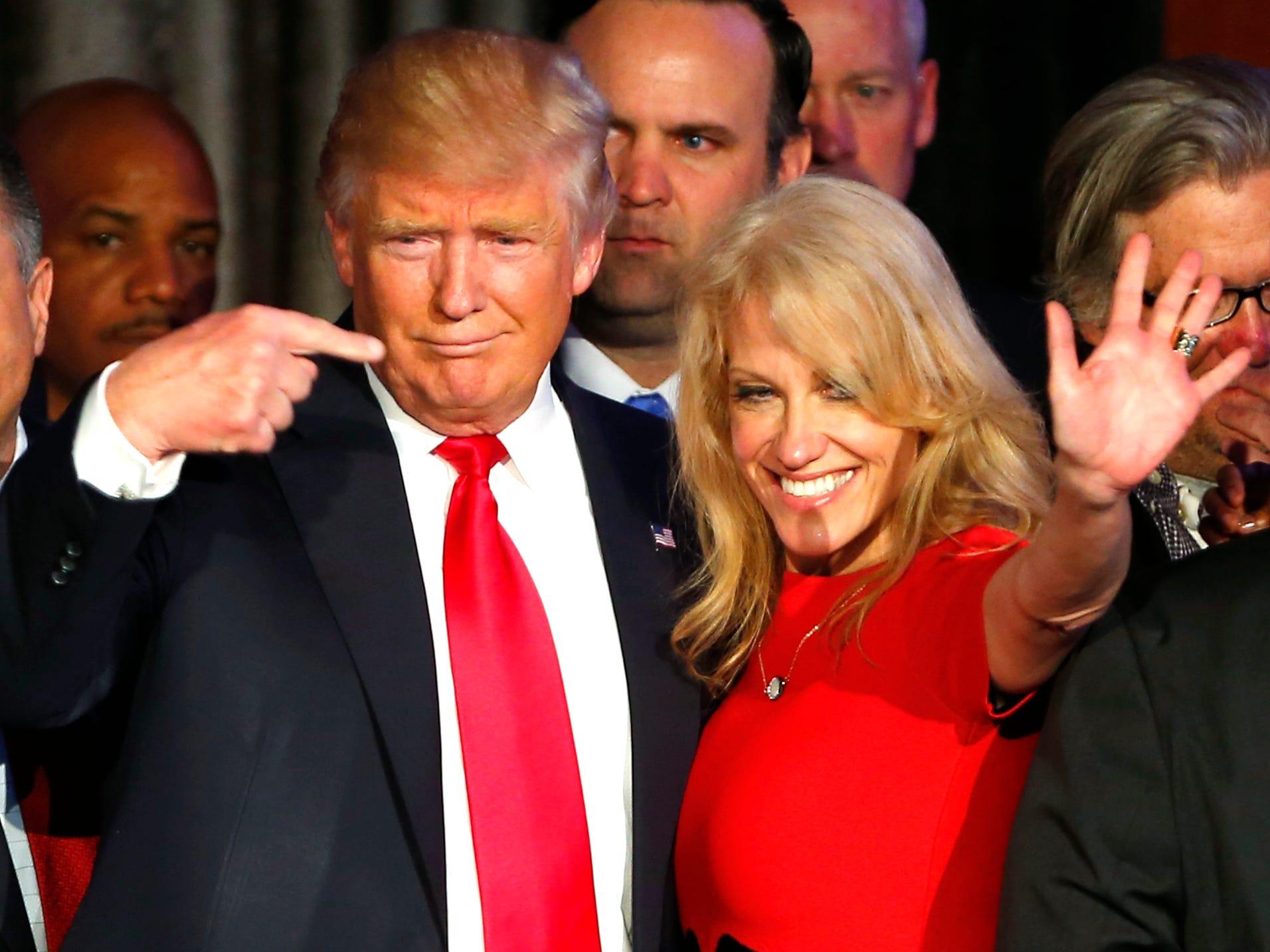 Kellyanne Conway told Trump that he didn't have 'swagger' in 2020 and said his campaign resembled Hillary Clinton's 2016 bid: book