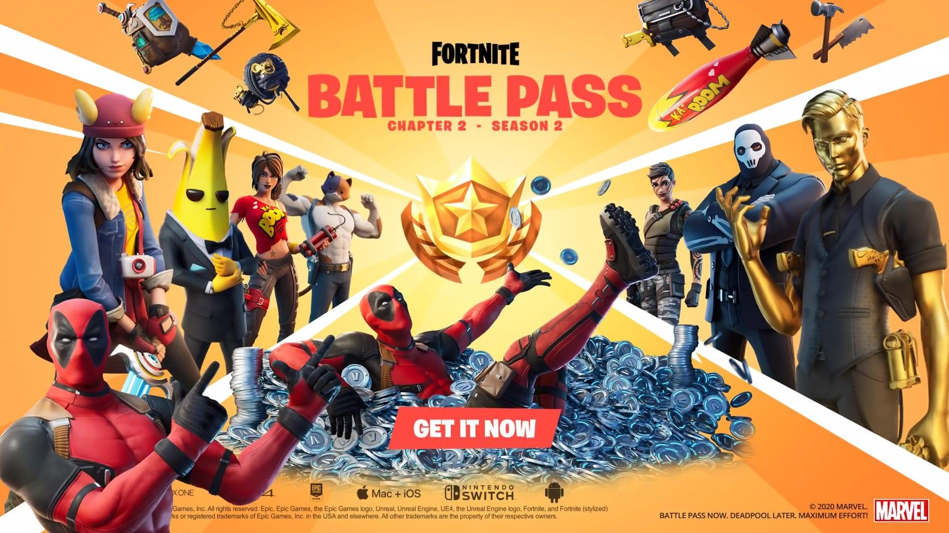Fortnite Client fortnite' chapter 2 season 2 is all about secret agents and