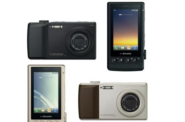 LG L-03C has 3x optical zoom, 12 megapixel CCD sensor, Xenon flash -- and it can make phone calls!