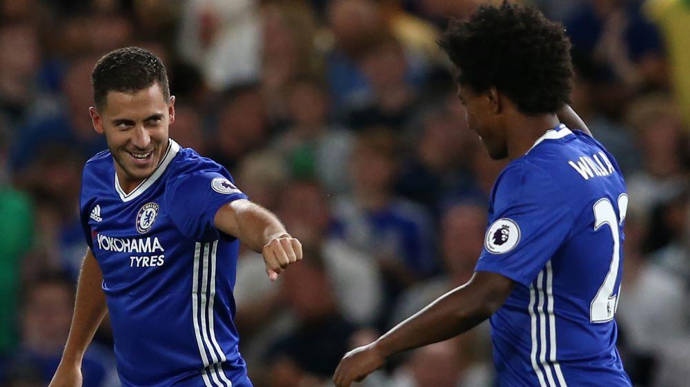 Sondado pelo Manchester United, Willian descarta saída do Chelsea