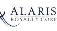 Alaris Royalty Corp. Provides a Corporate Update