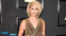 Paris Jackson Wears Michelle Obama T-Shirt, Converse and Pigtails to the MTV Movie & TV Awards