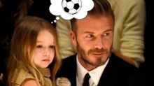 "Harper Beckham Wanting to Play Football is ""A Dagger Through the Heart"" for Mom Victoria"