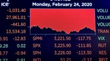 Dow Jones vuelve a bajar por epidemia de nuevo coronavirus y Nasdaq recupera terreno