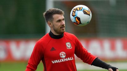 Aaron Ramsey not bothered by criticism from Arsenal fans, says Wales team-mate Chris Gunter