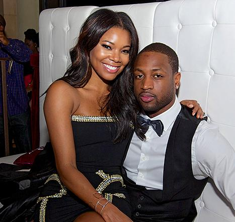 Gabrielle union dwyane wade married actress basketball player wed junglespirit Image collections