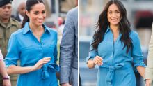 Meghan Markle recycles Aussie tour dress in South Africa