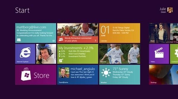 Microsoft unveils Windows 8 (video)