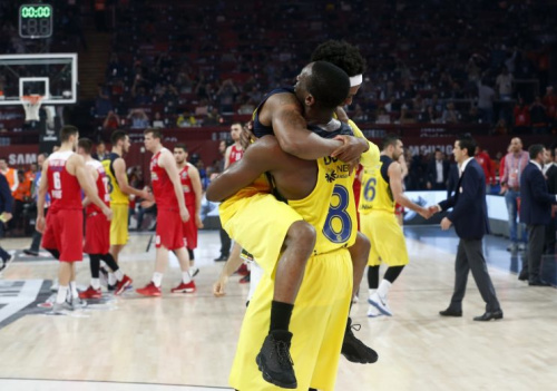 Former lottery pick Ekpe Udoh (8) returns from Europe a champion. (AP)