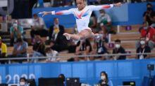 JO - Gym (F) - Mélanie De Jesus Dos Santos«envahie par le stress» lors du concours général des JO de Tokyo