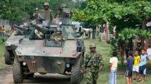 Mueren catorce disidentes de las FARC y un militar en combates en el suroeste de Colombia