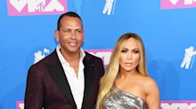 Every look worn by Jennifer Lopez at the 2018 MTV VMAs