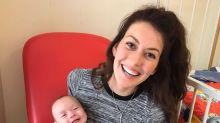 La sonrisa de un bebé luego de un cirugía de corazón abierto emocionó a las redes
