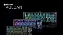 ROCCAT Debuts Performance Optical Switches Plus New Variants Of Its Award-Winning Vulcan Series PC Gaming Keyboards