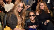 Blue Ivy Carter Adds More Skills To Her 8 Year Old CV With Make-Up Demo
