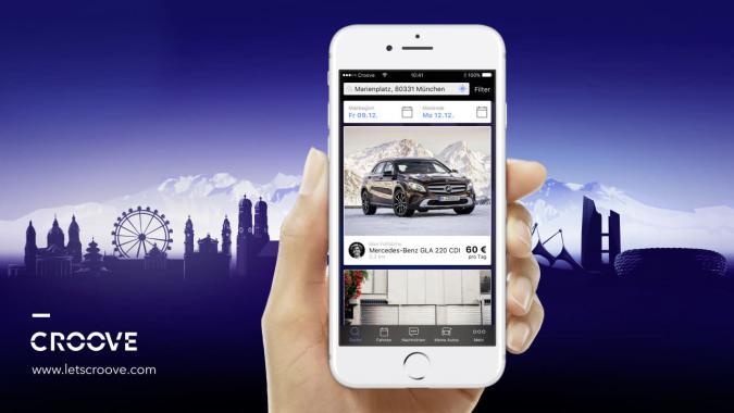 Croove: Carsharing nach AirBnb-Prinzip von Mercedes Benz