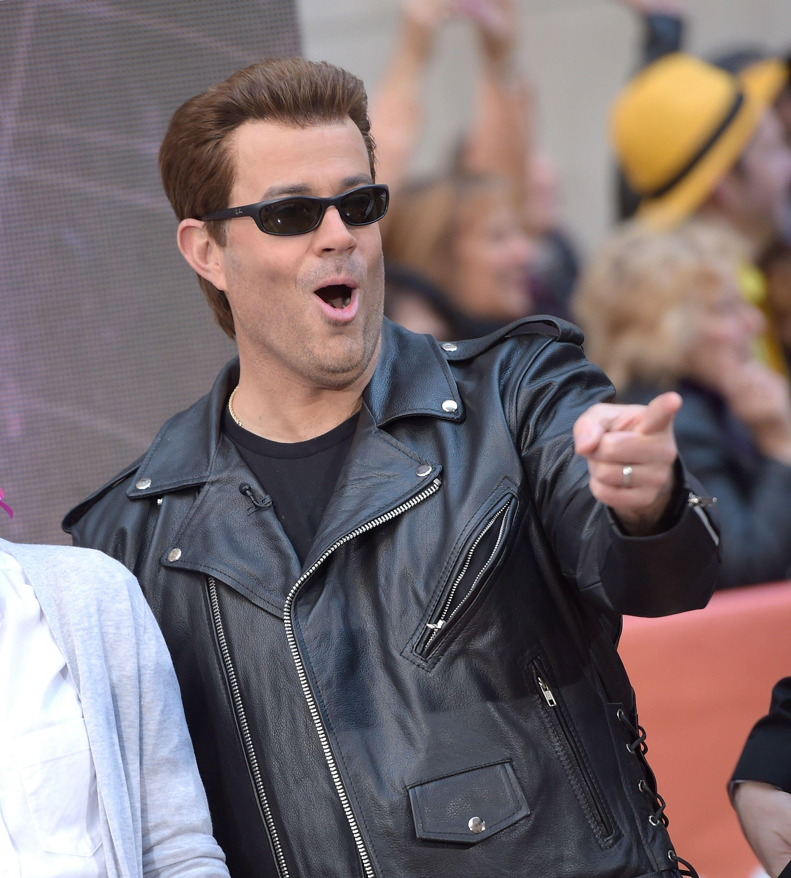Carson Daly Dressed Up As Himself In The Trl Glory Days