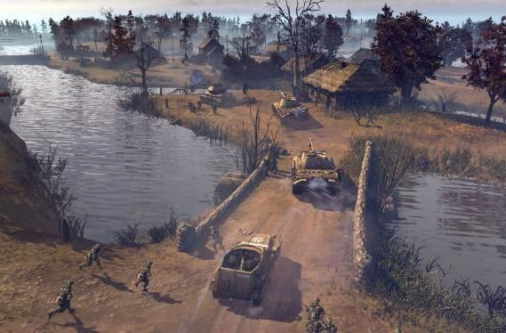 Company of Heroes 2 summer multi map out today, winter on Sept. 10