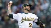 MLB roundup: A's catch Astros atop AL West