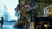 Transformers caught having diva moments in hilarious 'on-set' spoof videos