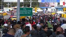Calamidad pública en paso fronterizo de Colombia con Ecuador por venezolanos