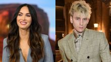 Megan Fox says loving Machine Gun Kelly is 'like being in love with a tsunami'