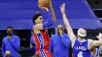 Sixers avoid meltdown in wild win over Lakers