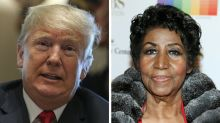 Trump Sparks Backlash For Saying Aretha Franklin 'Worked For Me' During Tribute