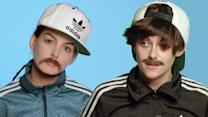 Kristen Stewart & Anne Hathaway In Drag For Jenny Lewis?s ?Just One Of The Guys? Video