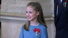 ¿Por qué estaría nerviosa la Princesa Leonor?