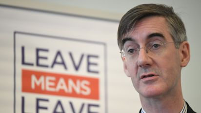 EU 'very pleased' not to be negotiating Brexit with Rees-Mogg