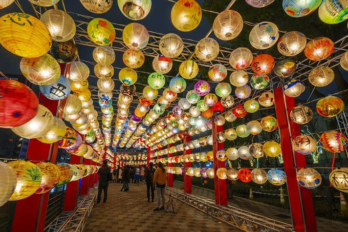 關西大阪光の交流プログラム「台南・光の廟埕」