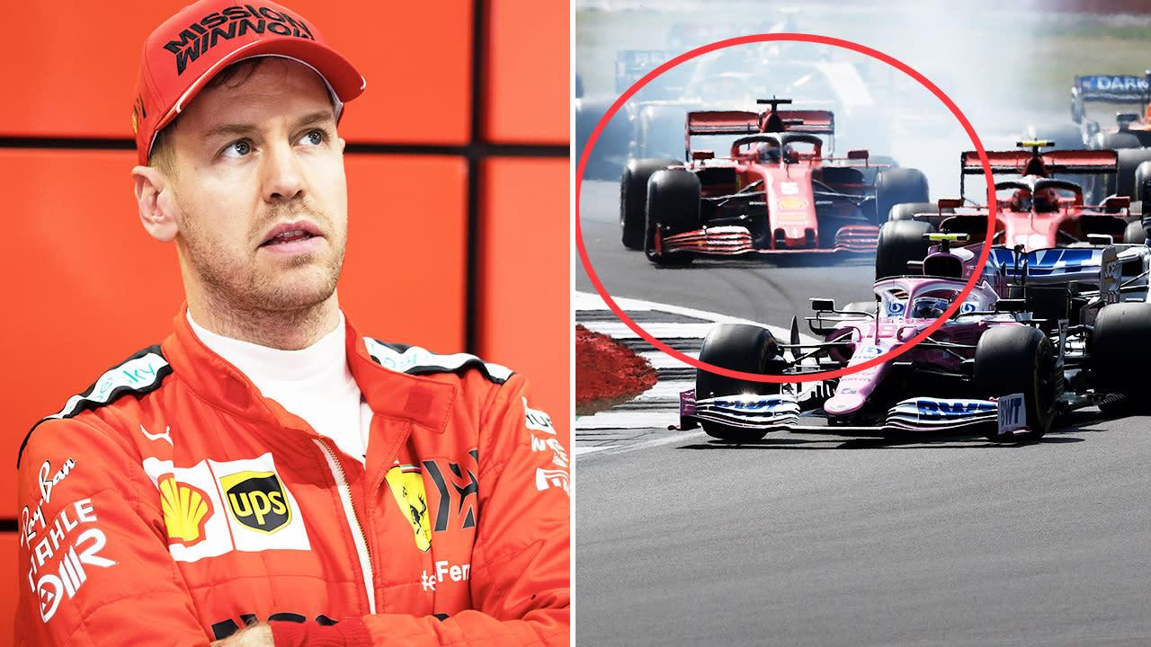 'You messed up': Sebastian Vettel turns on Ferrari after F1 shocker